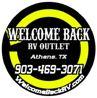 Welcome Back RV Outlet Logo