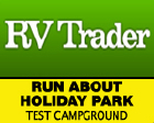 RUN ABOUT HOLIDAY PARK Logo