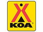 Des Moines West KOA Logo