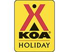 West Glacier KOA Logo