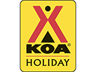 Lincoln/Woodstock KOA Logo