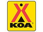 Titusville/Kennedy Space Center KOA Logo