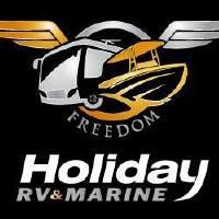 Holiday RV and Marine Logo