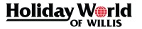Holiday World of Willis Logo