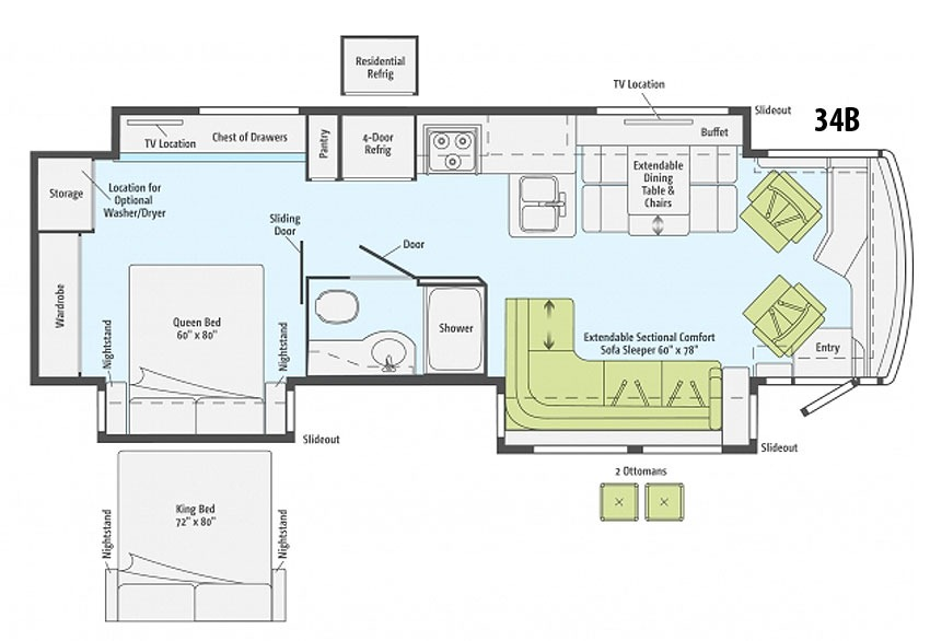 Itasca Sunrise Rv Floor Plans