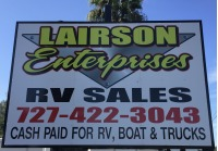 Lairson Enterprises RV Sales Logo