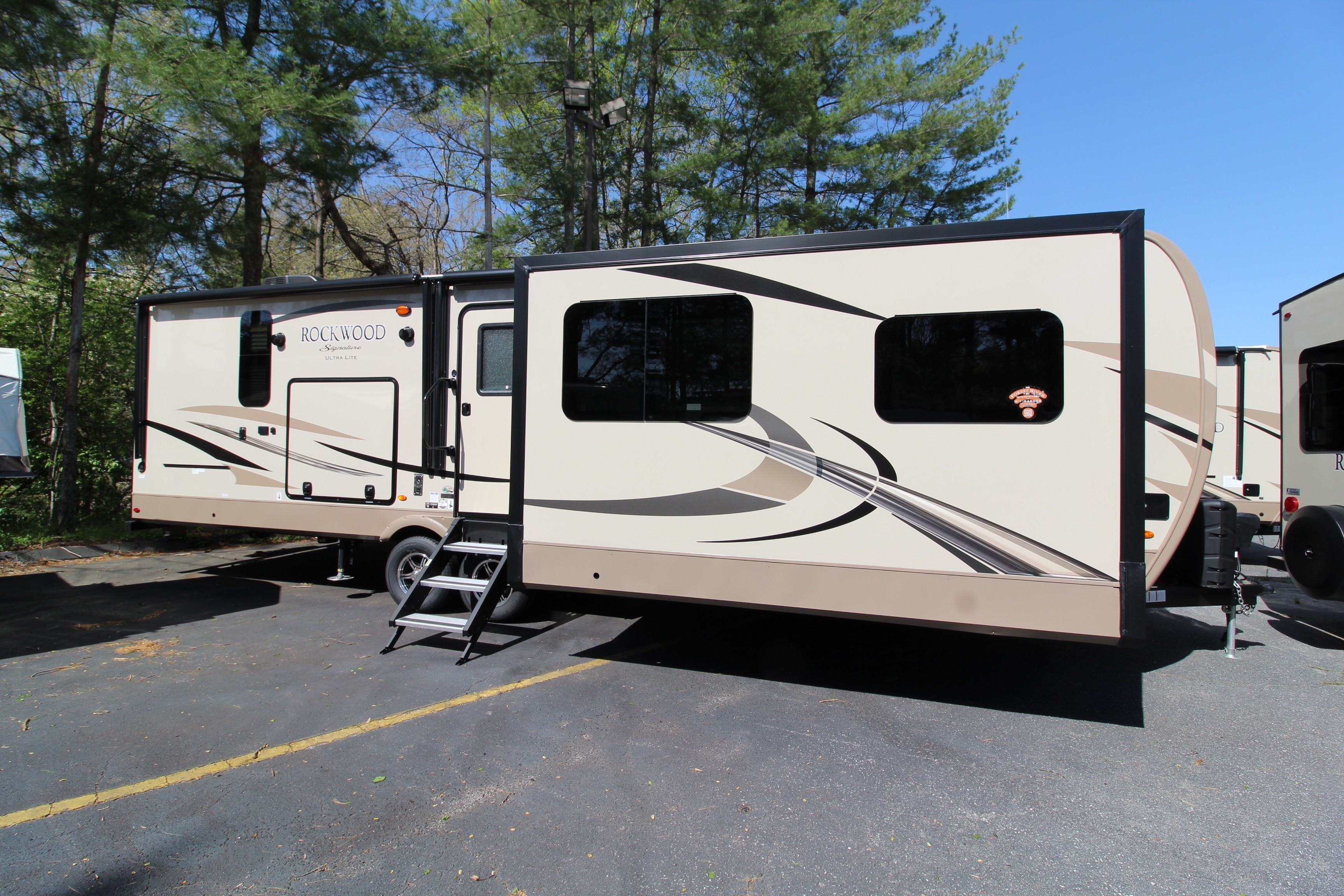 kitchens travel trailer ultra lighting light with outdoor awesome and wheel rv new outback lite used of trailers