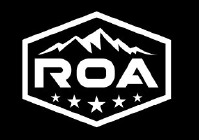 RVs of America Black Series Camper Dealer Logo