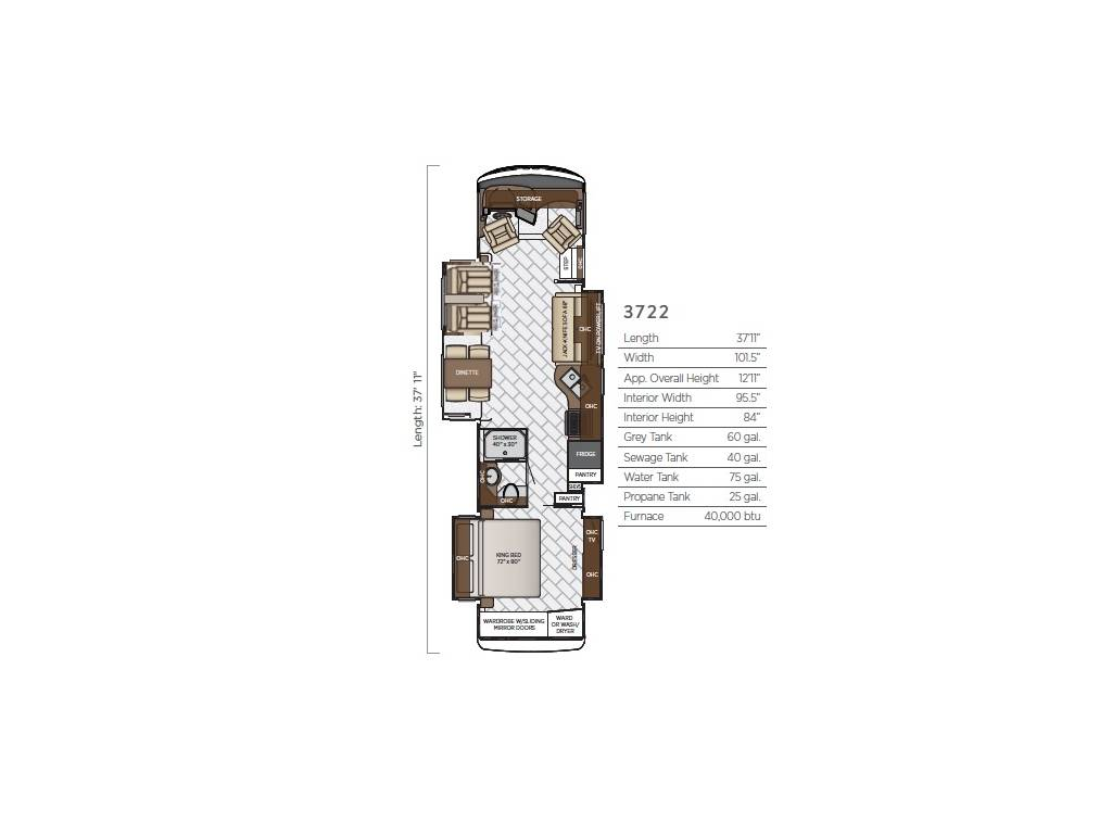 Contact this seller: 1-888-976-4886. Watch 1 Video Play Brochure Share.  2019 Newmar Canyon Star 3722 Loaded Luxury Class ...