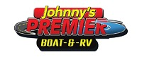 Johnny's Premier Boat and RV Logo