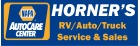 Horner's RV and Auto Logo