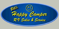 Bill's Happy Camper RV Sales and Service Logo