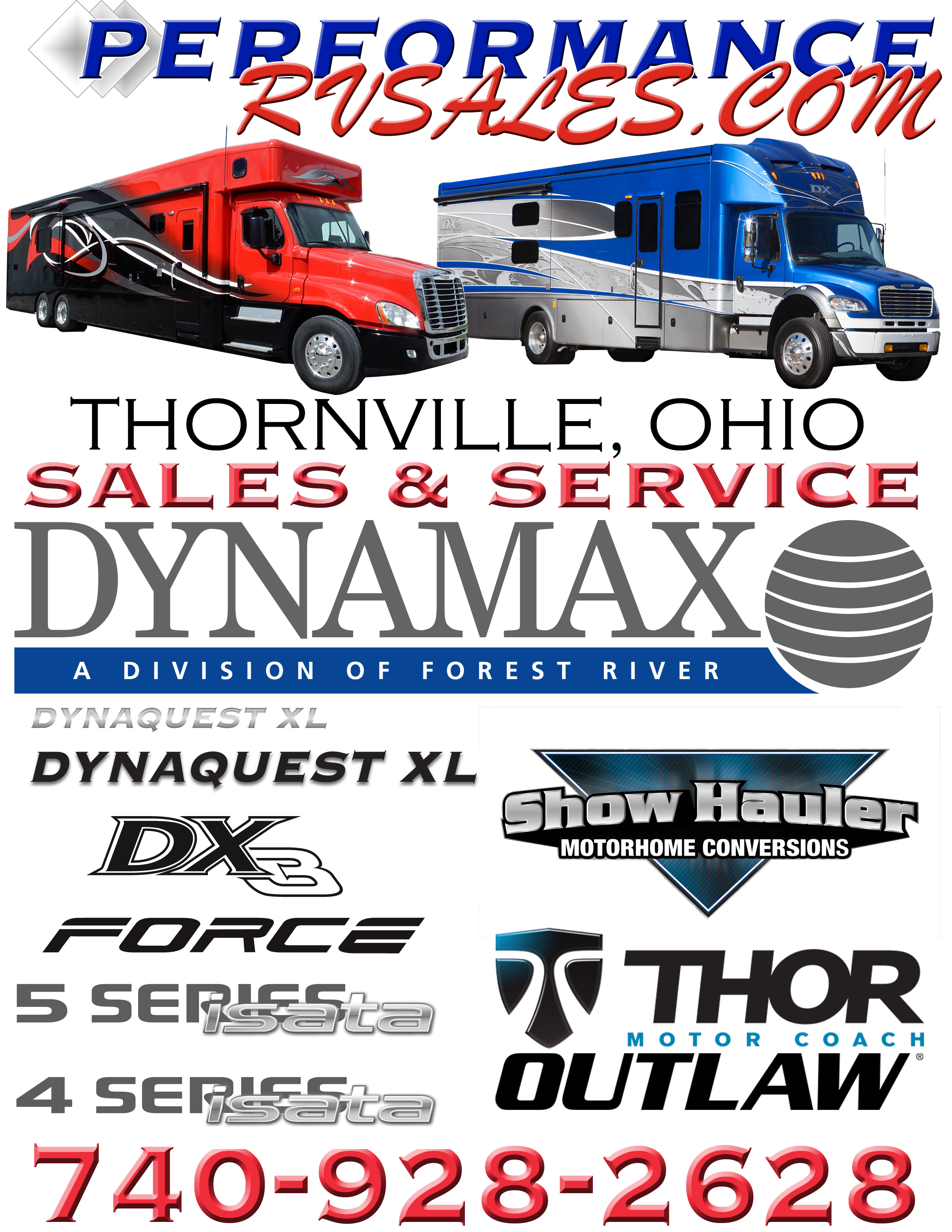 Rv Dealers In Ohio >> 2020 Dynamax Isata 5 36ds 4x4 For Sale In Thornville Oh Rv Trader