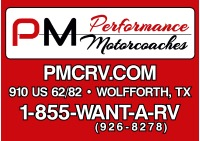 Performance Motorcoaches Logo