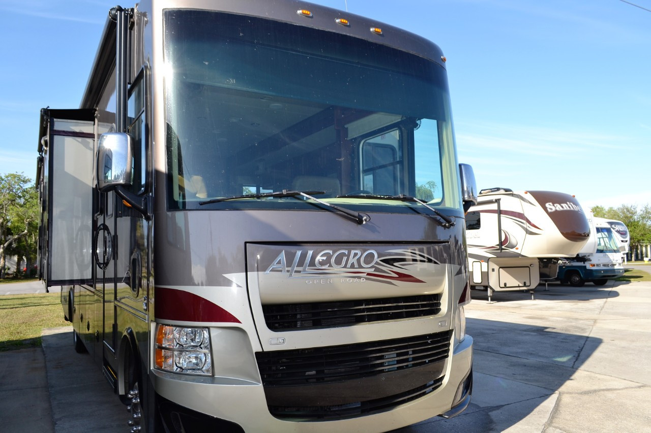 Used, 2014, Tiffin Motorhomes, ALLEGRO OPEN ROAD 35QBA, Class A