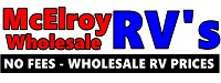 McElroy Wholesale RV's Logo