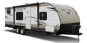 26' Forest River Wildwood W/Bunk Beds and Slide-Out (T28)-0