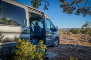 Spacious Heated Campervan You Can Stand In M (Sleeps 2) Check Dates for Pricing! (M3)-0