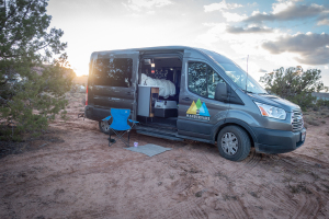 Spacious Heated Campervan You Can Stand In M (Sleeps 2) Check Dates for Pricing! (M4)-0