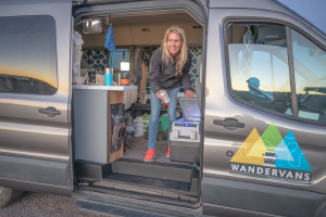 Spacious Heated Campervan You Can Stand In M (Sleeps 2) Check Dates for Pricing! (M7)-0