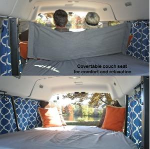 Heated Medium Tall Wandervan (Sleeps 2) - Check Dates for Price #5-0