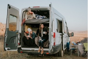 Heated Large Wandervan (Sleeps 4-5) - Check Dates for Price -0