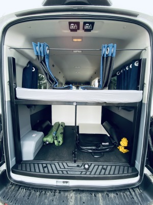 Medium roof Campervan w/ Queen Bed - Ready to camp at Glacier/Yellowstone-0