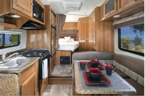 Small Class C Motorhome For Your Next Trip! Santee-0