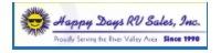 Happy Days RV Sales, Inc. Logo